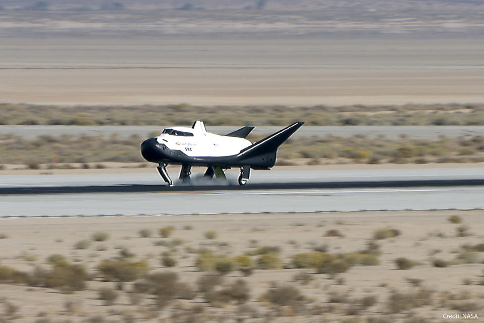 Dream Chaser is capable of touching down on any runway that can welcome a Boeing 737.