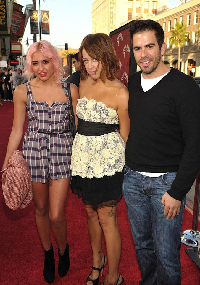 "Peaches Geldof, <a href=""http://movies.yahoo.com/movie/contributor/1804143104"">Eli Roth</a> and guest at the Los Angeles premiere of <a href=""http://movies.yahoo.com/movie/1810070753/info"">Scott Pilgrim vs. the World</a> - 07/27/2010"
