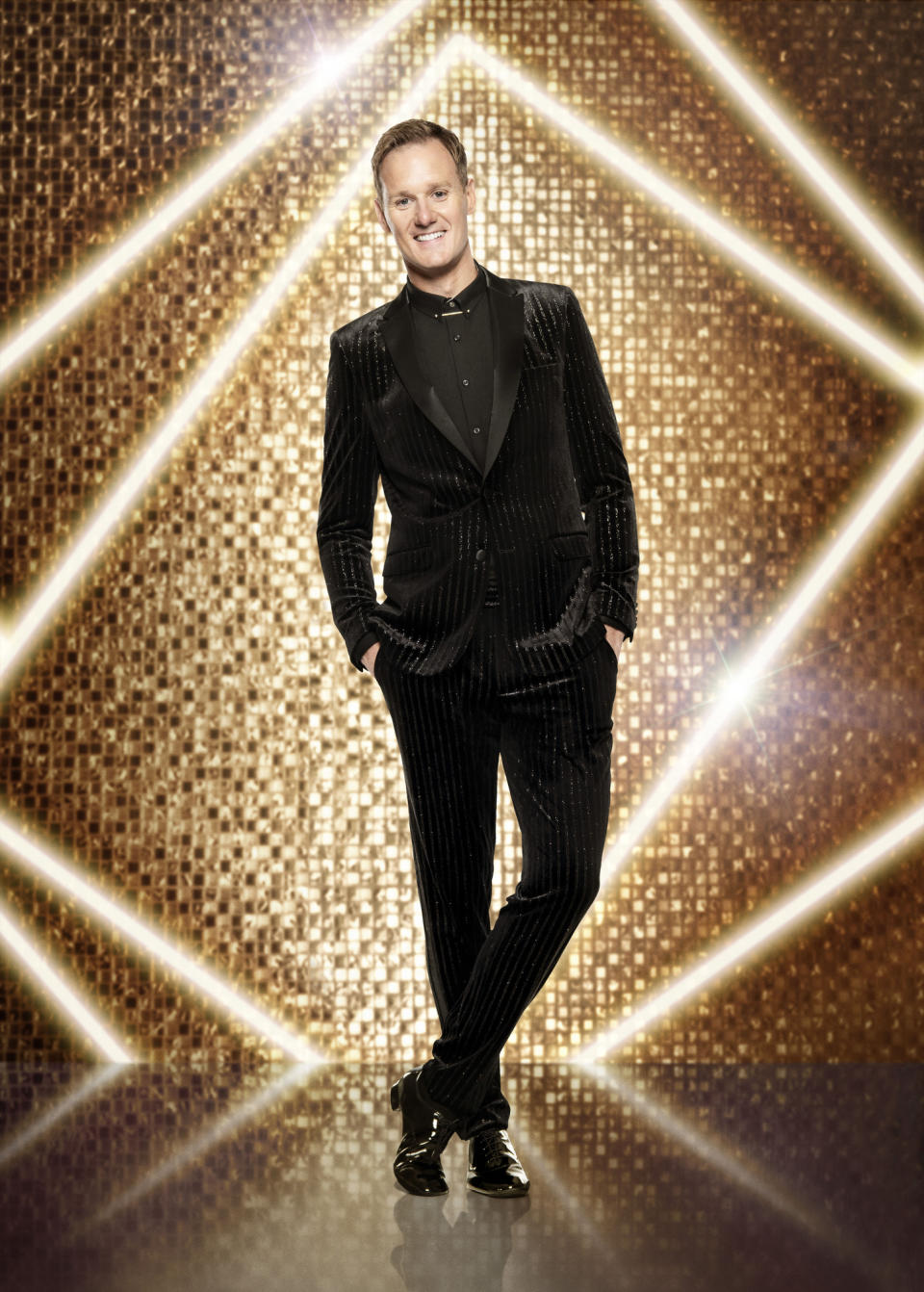 WARNING: Embargoed for publication until 00:00:01 on 12/09/2021 - Programme Name: Strictly Come Dancing 2021 - TX: n/a - Episode: Strictly Come Dancing - Generics (No. n/a) - Picture Shows: *NOT FOR PUBLICATION UNTIL 00:01HRS, SUNDAY 12TH SEPTEMBER, 2021* Dan Walker - (C) BBC - Photographer: Ray Burmiston