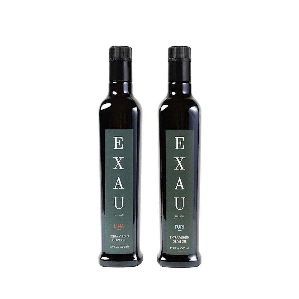 <p><span>EXAU Olive Oil</span> ($56 for two)</p>