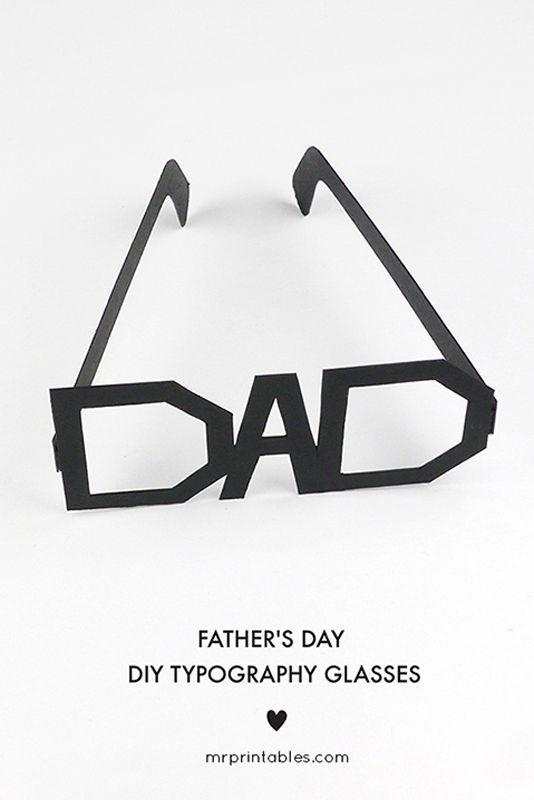 """<p>Trace this design on to a piece of colored cardboard or cardstock, and you <em>know</em> he'll put it on for a silly photo.</p><p><em><a href=""""https://mrprintables.com/fathers-day-printable-glasses.html"""" rel=""""nofollow noopener"""" target=""""_blank"""" data-ylk=""""slk:Get the tutorial from Mr Printables »"""" class=""""link rapid-noclick-resp"""">Get the tutorial from Mr Printables »</a></em></p>"""