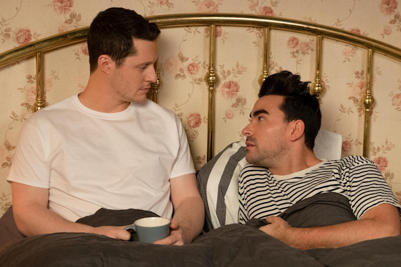 Schitt's Creek unpacked: Dan Levy on David's pansexuality and Patrick's coming-out story