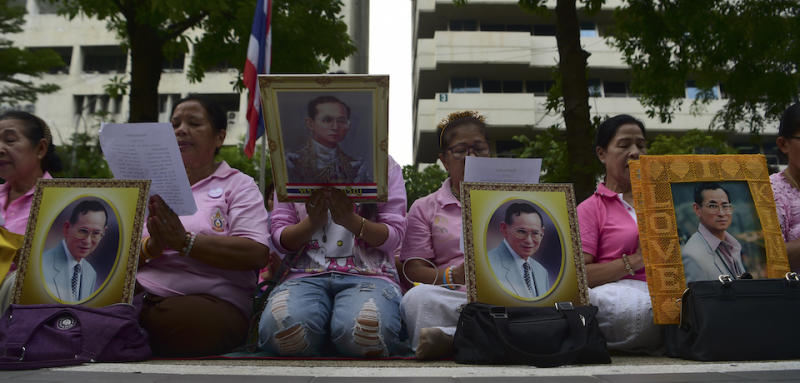Thailand's Junta (Respectfully) Wants the Monarchy To Know Who's Boss