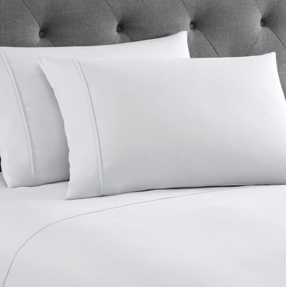 UGG Nieva Cooling Percale Sheets in Stone (Photo via Nordstrom)