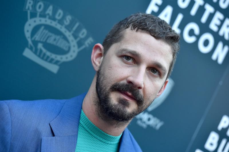 """HOLLYWOOD, CALIFORNIA - AUGUST 01: Shia LaBeouf attends the LA Special Screening of Roadside Attractions' """"The Peanut Butter Falcon"""" at ArcLight Hollywood on August 01, 2019 in Hollywood, California. (Photo by Axelle/Bauer-Griffin/FilmMagic)"""
