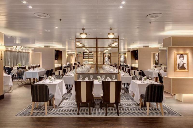 Angelo's is just one of the 12 restaurant choices on board. Source: Supplied