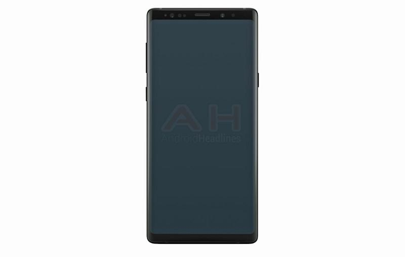 Is this the Samsung Galaxy Note 9? It looks almost identical to the Galaxy Note 8 but should feature much-improved specs: Android Headlines