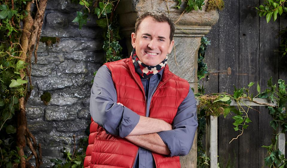 Shane Richie regaled his I'm A Celebrity campmates with tales of when he met Tom Cruise. (ITV)