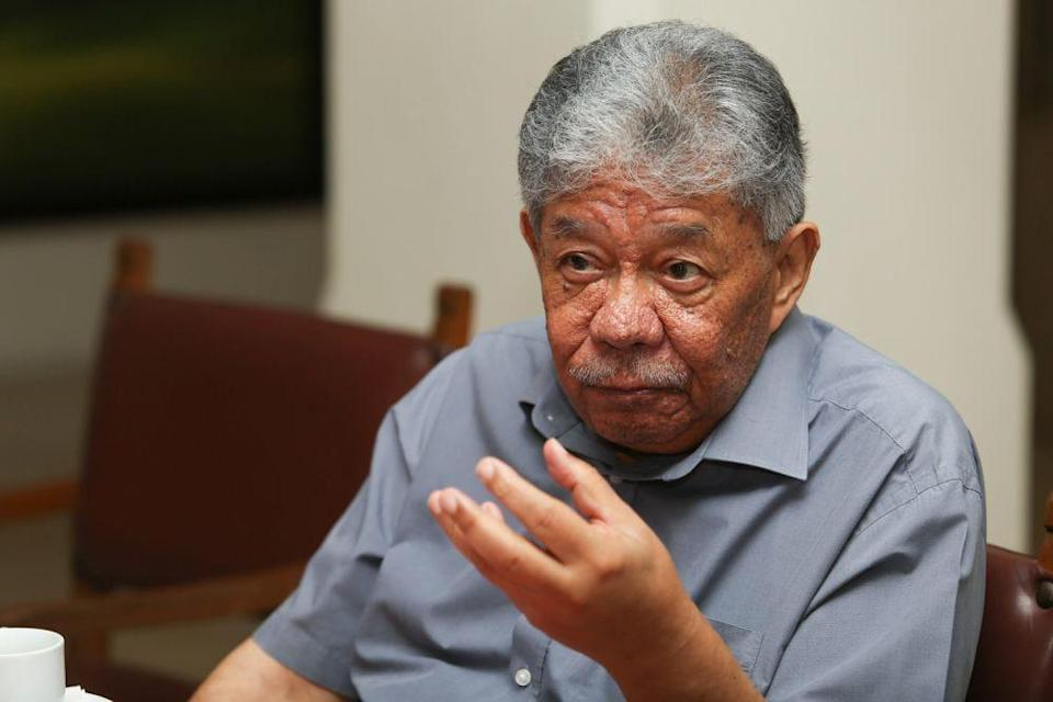 Tawfik Ismail speaks to Malay Mail during an interview September 5, 2020. — Picture by Choo Choy May