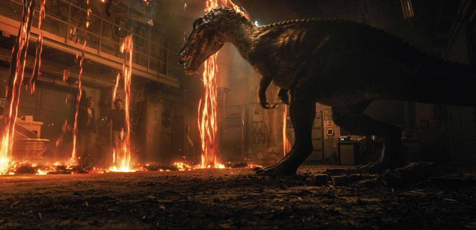 The stars of Fallen Kingdom face a deadly new threat. (Universal Pictures)