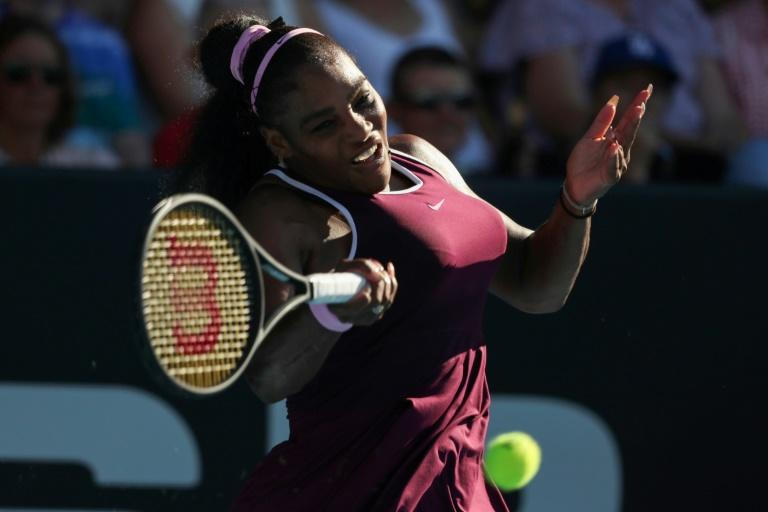 Serena Williams has won her 73rd WTA title (AFP Photo/MICHAEL BRADLEY)