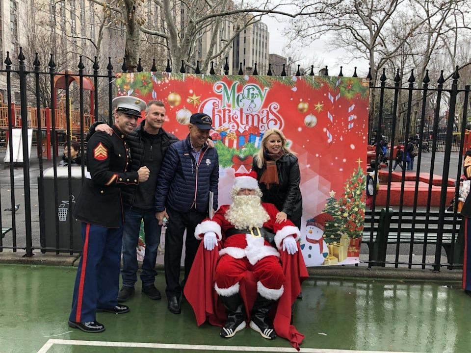 Tao Liu, dressed up as Santa for a New York charity event, pleaded guilty to money laundering and trying to bribe a U.S. official.