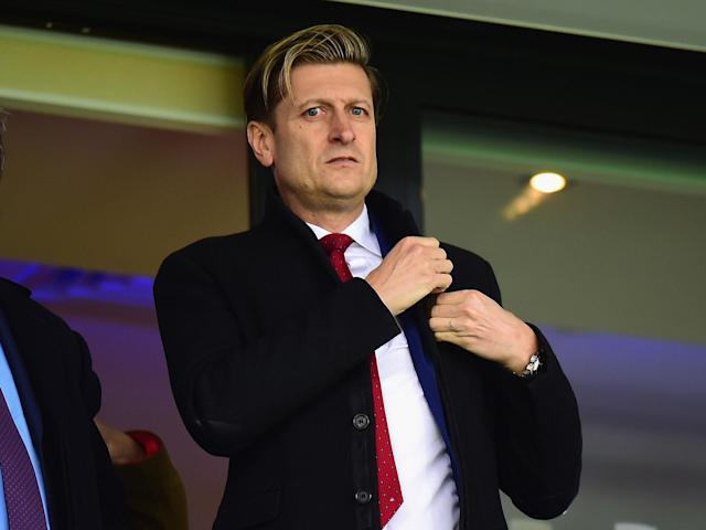 Steve Parish believes Brexit is a 'fantastic opportunity' for English football: Getty