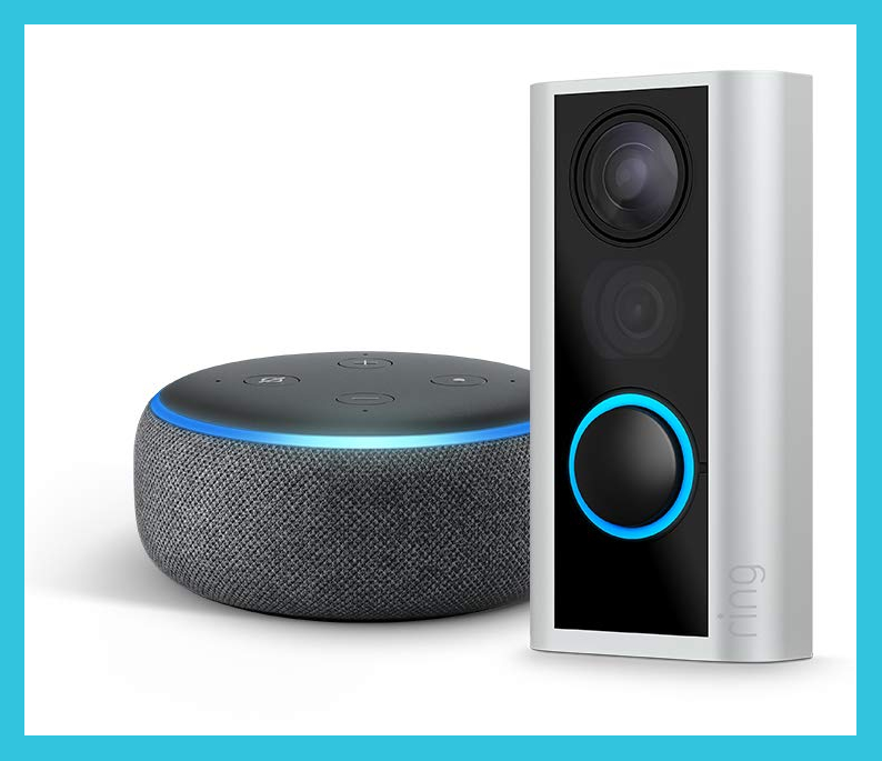 Get the Ring Peephole Cam for just $80 and get an Echo Dot for free. (Photo: Amazon)