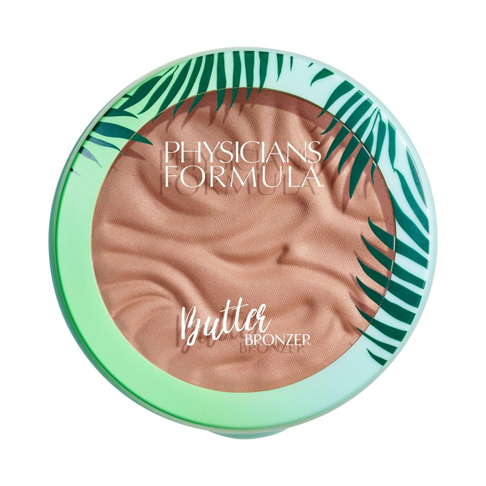 """<p><strong>Physicians Formula</strong></p><p>walmart.com</p><p><strong>$11.04</strong></p><p><a href=""""https://go.redirectingat.com?id=74968X1596630&url=https%3A%2F%2Fwww.walmart.com%2Fip%2F208810115&sref=https%3A%2F%2Fwww.goodhousekeeping.com%2Fbeauty-products%2Fg36020083%2Fbest-bronzer-for-dark-skin%2F"""" rel=""""nofollow noopener"""" target=""""_blank"""" data-ylk=""""slk:Shop Now"""" class=""""link rapid-noclick-resp"""">Shop Now</a></p><p>This creamy formula from Physicians Formula, a GH beauty editor favorite, is an <a href=""""https://www.goodhousekeeping.com/beauty/makeup/tips/g2329/best-drugstore-cosmetics/"""" rel=""""nofollow noopener"""" target=""""_blank"""" data-ylk=""""slk:amazing drugstore"""" class=""""link rapid-noclick-resp"""">amazing drugstore</a> bronzer for dark skin as it provides a natural glow. <strong>The color is the perfect balance between warm and cool</strong>, so it works on multiple shades of melanin. The bronzer also contains natural butters to nourish skin. </p>"""