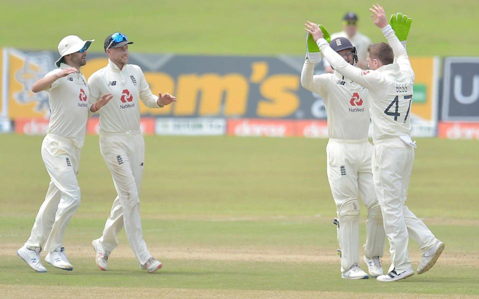 England bowl out Sri Lanka on day four via Jack Leach five wickets but wobble in pursuit of 74