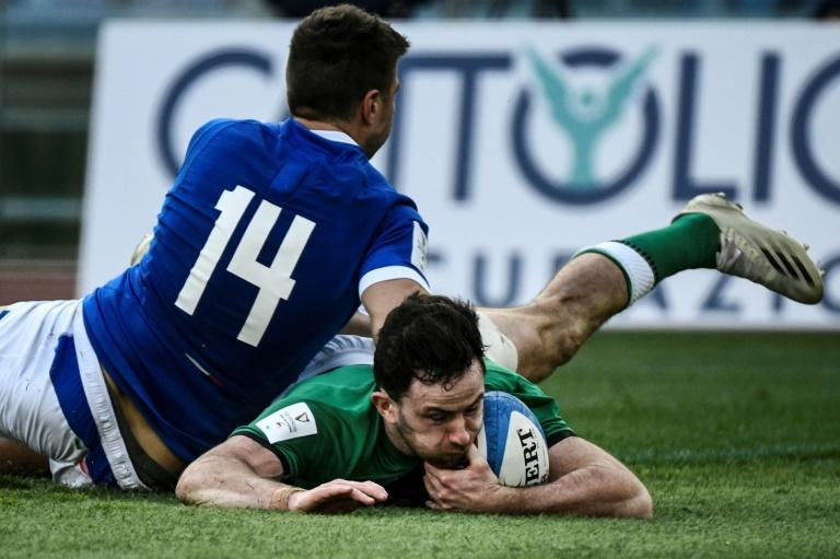 Ireland's backs responded to head coach Andy Farrell's plea to be more clinical full-back Hugo Keenan being among the try scorers in the 48-10 whipping of Italy