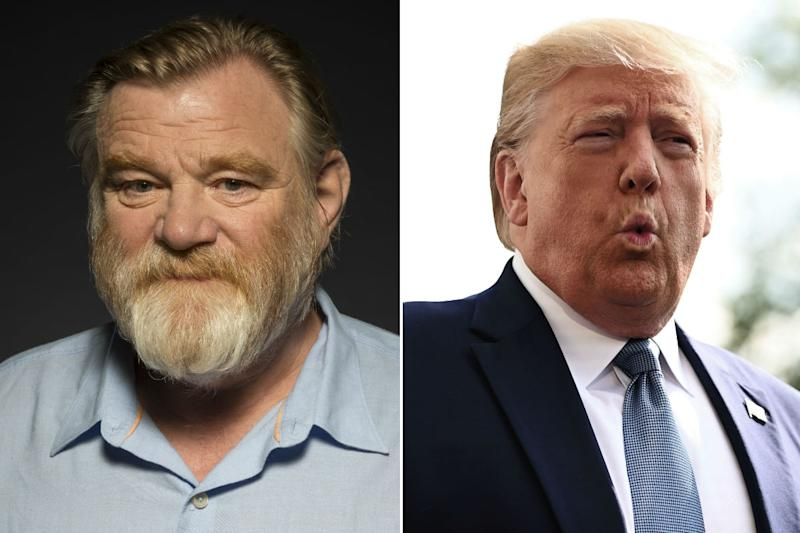 Gleeson will play Trump in new CBS show (Credit: Ron Eshel/Invision/AP/Getty)