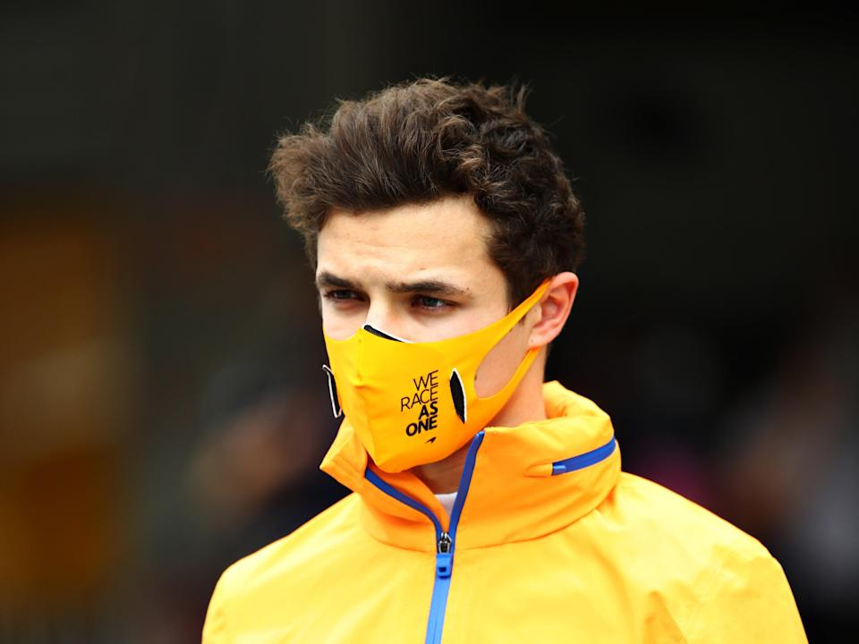 Lando Norris issued an apology for 'stupid and careless' comments in recent interviews (Getty)