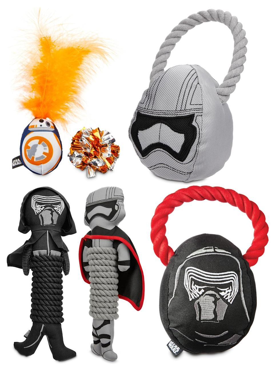<p>Your pooch can get in on the Force Friday fun with these toys, available only at Petco.com.</p>