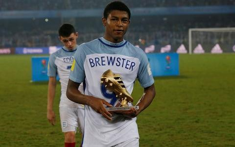 Liverpool's dispute with Borussia Monchengladbach following an alleged illegal approach for teenager Rhian Brewster has intensified with the postponement of a prestigious pre-season fixture between the clubs. The German club were heading to Anfield on August 7 for a curtain-raiser to the 2018-19 season. But such is the acrimony sparked by the pursuit of Brewster, Liverpool have withdrawn the invitation and written to the Bundesliga side to issue a warning about their conduct. Liverpool believe Brewster has been spoken to without permission. Monchengladbach's Sporting Director Max Eberl has made no secret of his admiration for the emerging talent in English football. On Friday, Monchengladbach signed 19-year-old Keanan Bennetts from Tottenham Hotspur. Liverpool believe the chase for Brewster has gone too far and they are ready to take the matter to Fifa. Brewster emerged as one of the most exciting teenage footballers in the world over the last 12 months, his reputation soaring having won the Golden Boot when England won the Under 17 World Cup in India. Brewster shone as England's under-17s won the World Cup last year Credit: Reuters Liverpool offered Brewster his first professional contract at the earliest opportunity – when Academy players turn 18 – but it remains unsigned as other interest parties came forward. Monchengladbach would appear to be most advanced and their pursuit has certainly riled Liverpool. But Brewster is entering the third year of a scholarship deal so he is still under contract and does not have permission to speak to other clubs. Jadon Sancho is among a host of English youngsters that have moved to Germany Credit: AFP German clubs are taking greater interest in England's emerging youngsters, believing they can offer a pathway to first team football at the highest level which the top Premier League managers cannot guarantee. The most high profile transfer of this type so far was the £10 million deal taking Jadon Sancho from Manchester City to B