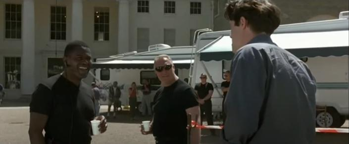 Tony Armatrading played a security guard in 'Notting Hill'. (Universal)