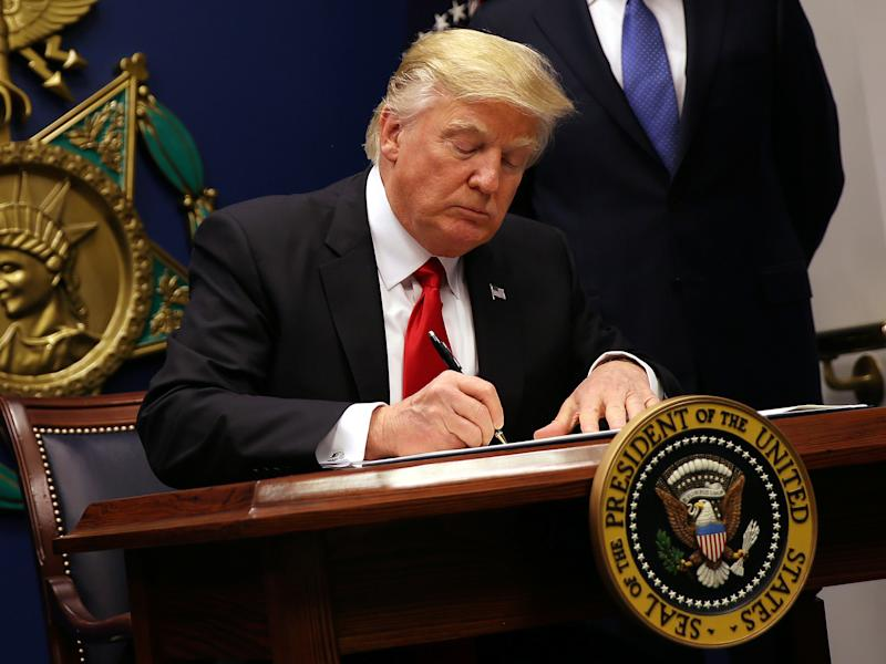 Donald Trump's 'extreme vetting' will not apply to several wealthy Muslim-majority countries where he has lucrative business interests: Reuters
