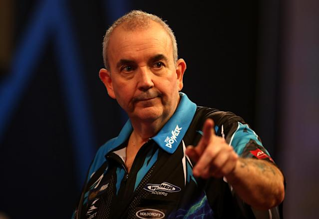 Phil 'The Power' Taylor is the benchmark for young darts players.