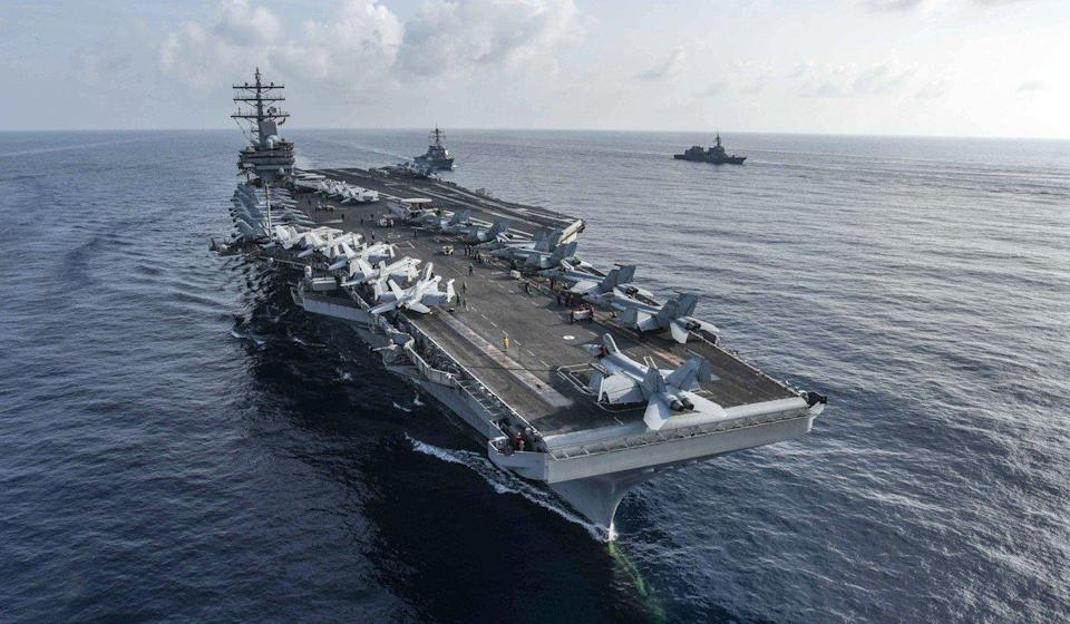 China tries to strengthen navy in face of growing US challenge to South China Sea claims