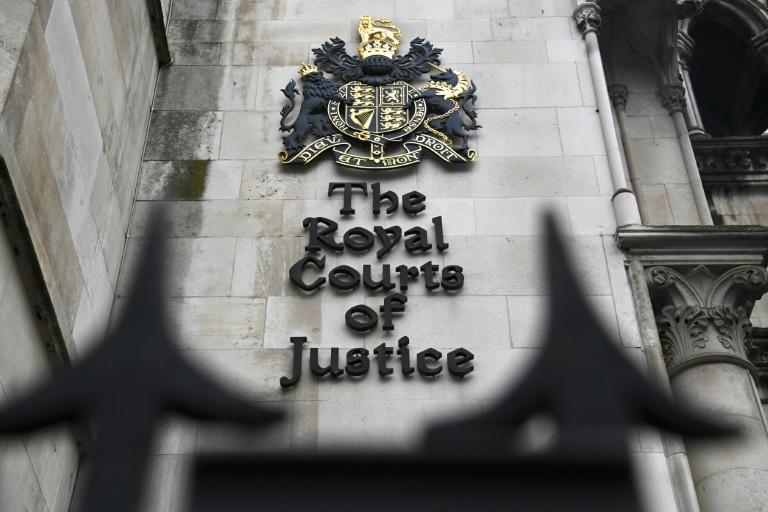 The coroner's inquest at the High Court in London will hear evidence from submarine commanders in the area at the time (AFP/DANIEL LEAL-OLIVAS)