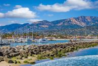 "<p>Affectionately nicknamed ""The American Riviera,"" Santa Barbara is a delightful place to spend Valentine's Day with your love on your arm. Fabulous nautical offerings, breathtaking botanical gardens, and idyllic streets filled with charming shops and eats, you may never want to leave. </p><p><a href=""https://www.sanysidroranch.com/"" rel=""nofollow noopener"" target=""_blank"" data-ylk=""slk:San Ysidro Ranch"" class=""link rapid-noclick-resp"">San Ysidro Ranch</a> lies in the star-studded suburb of Montecito, just 15 minutes from downtown, but you'll feel in a world of your own upon arrival. Beautiful gardens filled with lavender and rosemary welcome guests to their intimate cottages at the foothills of the Santa Ynez Mountains, promising an experience for the senses. You'll have everything you need at the ranch, from in-room spa services to a private outdoor space to soak in the Southern California sun, but the property offers day trips to some of the area's best wineries, a year-round heated pool, and exclusive access to the cities most exclusive leisure activities.</p>"