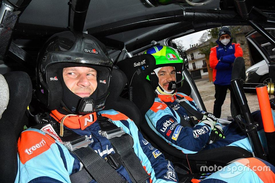 "Franco Morbidelli, WithU Motorsport Hyundai i20 R5<span class=""copyright"">WithU Motorsport</span>"