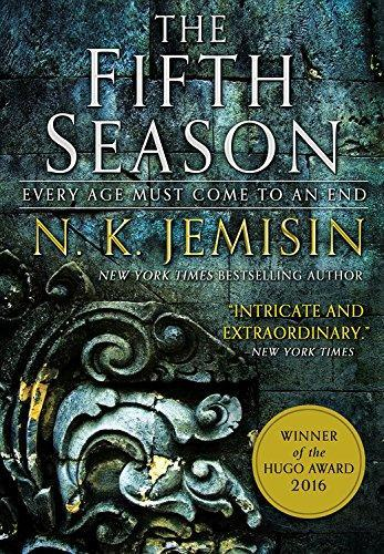 """<p><strong>N K Jemisin</strong></p><p>Amazon</p><p><strong>$8.89</strong></p><p><a href=""""https://www.amazon.com/dp/0316229296?tag=syn-yahoo-20&ascsubtag=%5Bartid%7C10049.g.28008857%5Bsrc%7Cyahoo-us"""" rel=""""nofollow noopener"""" target=""""_blank"""" data-ylk=""""slk:Shop Now"""" class=""""link rapid-noclick-resp"""">Shop Now</a></p><p>Welcome to Stillness, a place where climate change is so real, there's a """"fifth season"""" (get it?) and the constant threat of disaster coming at full force. Good luck trying to read this in multiple sittings: The deeply emotional characters in Essun, Syen, and Damaya deserve all the praise. Come for Jemisin's brilliant prose, stay for the <em>two</em> handy glossaries. God, I love a good glossary.</p>"""