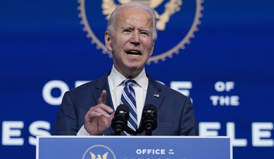 America is unlikely to soften its stance on China after Joe Biden takes over in the White House, observers say. Photo: AP