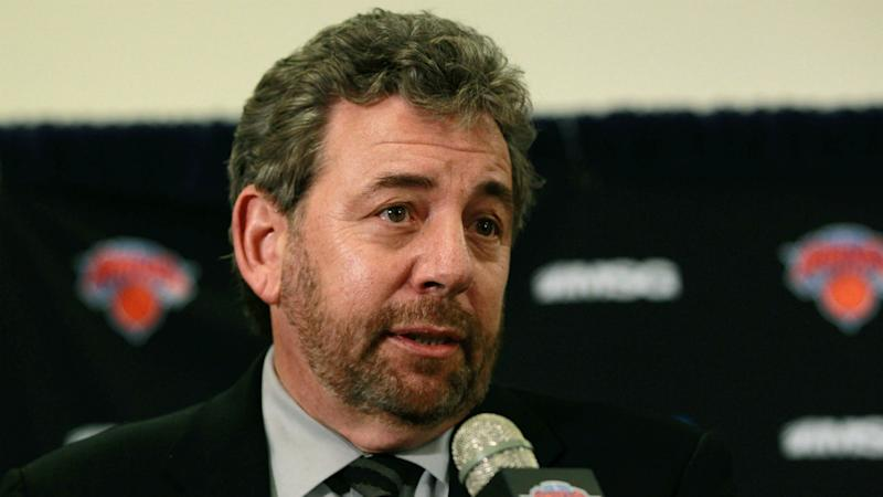 Knicks say owner James Dolan isolated after positive coronavirus test