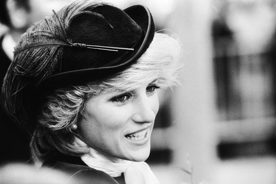 Princess Diana has been crowned the most attractive female royal by science, pictured in Wales, October 1981. (Photo by Jayne Fincher/Getty Images)