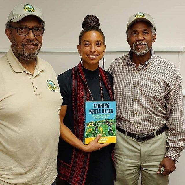 """<p>Leah is the co-founder of Soul Fire Farm, an organic farm in New York that's focused ending racism and injustice in the food system. She also wrote the book <em><a href=""""https://www.soulfirefarm.org/media/farming-while-black/"""" rel=""""nofollow noopener"""" target=""""_blank"""" data-ylk=""""slk:Farming While Black"""" class=""""link rapid-noclick-resp"""">Farming While Black</a> </em>and is a must-follow for those looking to create more equity in the farming world.</p><p><a href=""""https://www.instagram.com/p/B5QanpHAwDE/"""" rel=""""nofollow noopener"""" target=""""_blank"""" data-ylk=""""slk:See the original post on Instagram"""" class=""""link rapid-noclick-resp"""">See the original post on Instagram</a></p>"""
