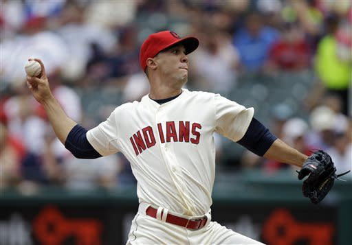 Jimenez, 2 homers lead Indians past Rays 5-0