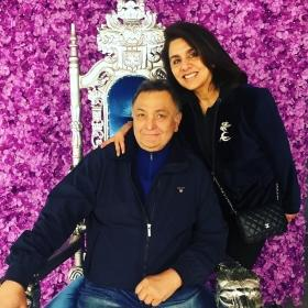 Watch Neetu Kapoor say a Tamil tongue twister, as Rishi smiles