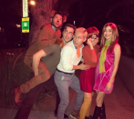 <p><em>I would have gotten away with it, too, if it weren't for you meddling kids! </em>Former child stars joining forces as Scooby-Doo and the gang makes so much sense! Their friends Ryan Adames and Colton Tran joined in on this epic group costume.</p>