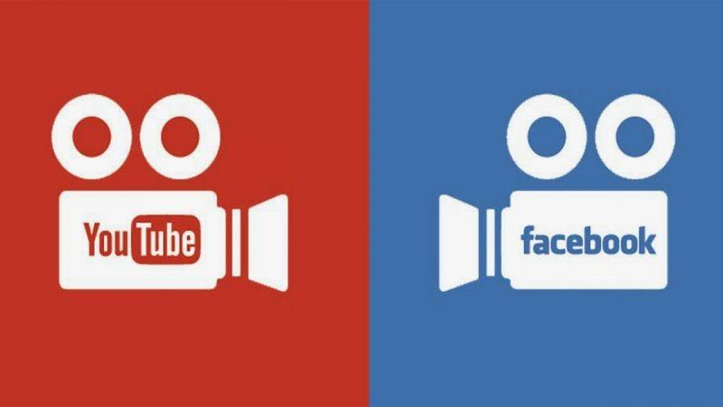 YouTube and Facebook are two of the most popular streaming websites in the world