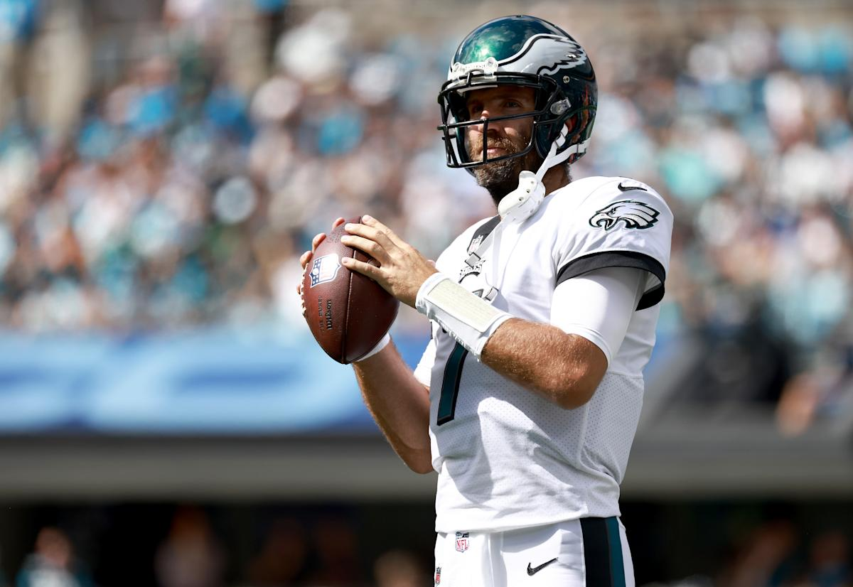Jets trade for Eagles QB Joe Flacco with Zach Wilson injured