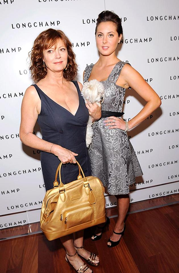 "Even though she's over 60, Susan Sarandon could easily rock daughter Eva Amurri's frock. Shawn Ehlers/<a href=""http://www.wireimage.com"" target=""new"">WireImage.com</a> - July 14, 2008"