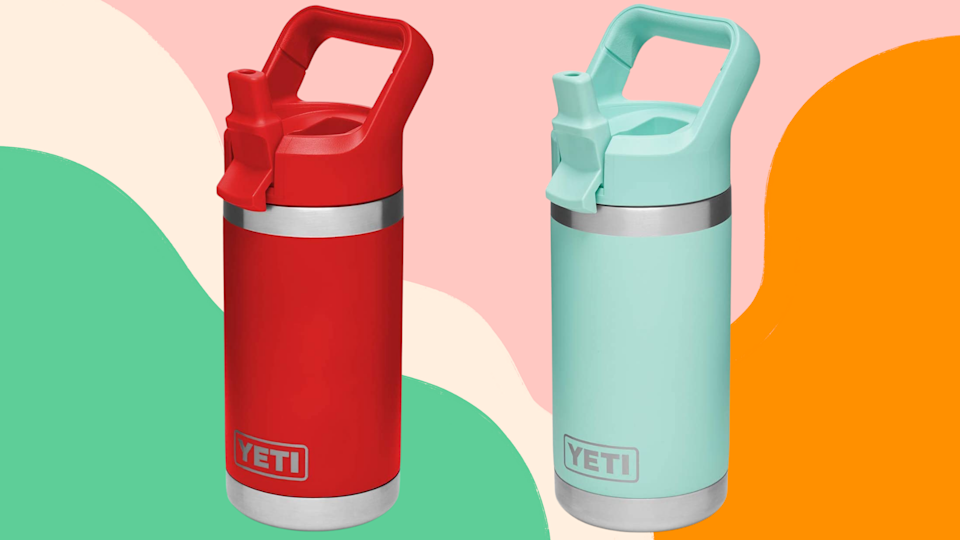 Stay hydrated while on the go outside.