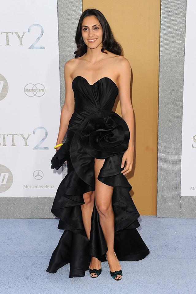"Raya Meddine at the New York City premiere of <a href=""http://movies.yahoo.com/movie/1810111276/info"">Sex and the City 2</a> - 05/24/2010"