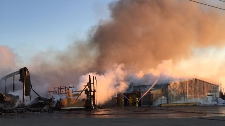 Arson confirmed cause of fire that destroyed Mother Wood Timber Mart