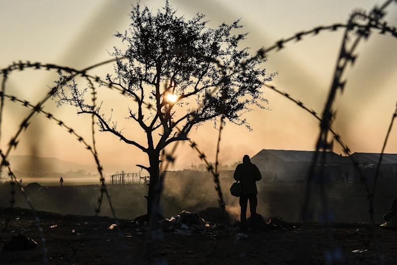 The migrant crisis shows no signs of abating with 100,000 arriving in Europe so far this year on top of one million in 2015 (AFP Photo/Armend Nimani)
