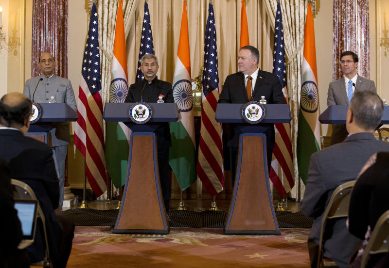 US and India pledge cooperation, as Pakistan claims the latter deployed missiles in disputed territory