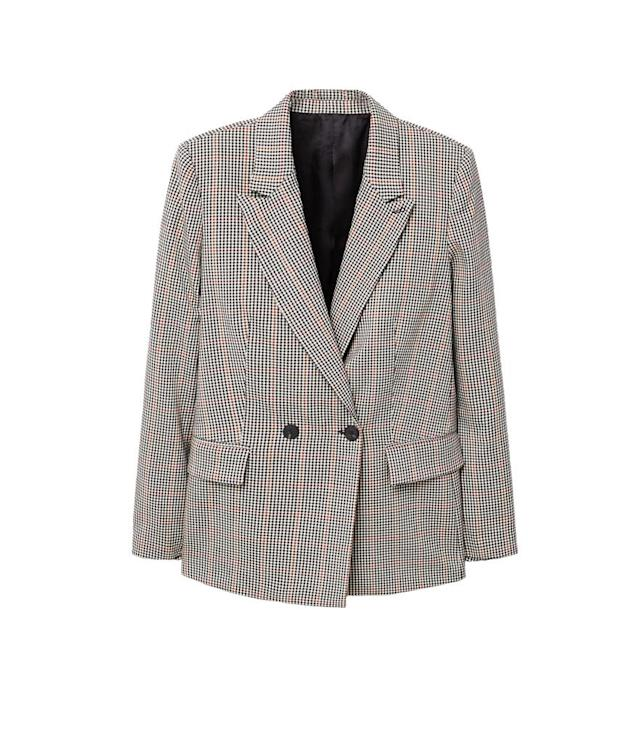 "<p>Mango Check Structured Blazer, $100, <a href=""https://shop.mango.com/us/women/jackets-blazers/check-structured-blazer_11085705.html?c=70&utm_source=polyvore&utm_medium=cpc&utm_campaign=comparador_USA"" rel=""nofollow noopener"" target=""_blank"" data-ylk=""slk:mango.com"" class=""link rapid-noclick-resp"">mango.com</a><br> (Data: Long Tall Sally, Instagram) </p>"