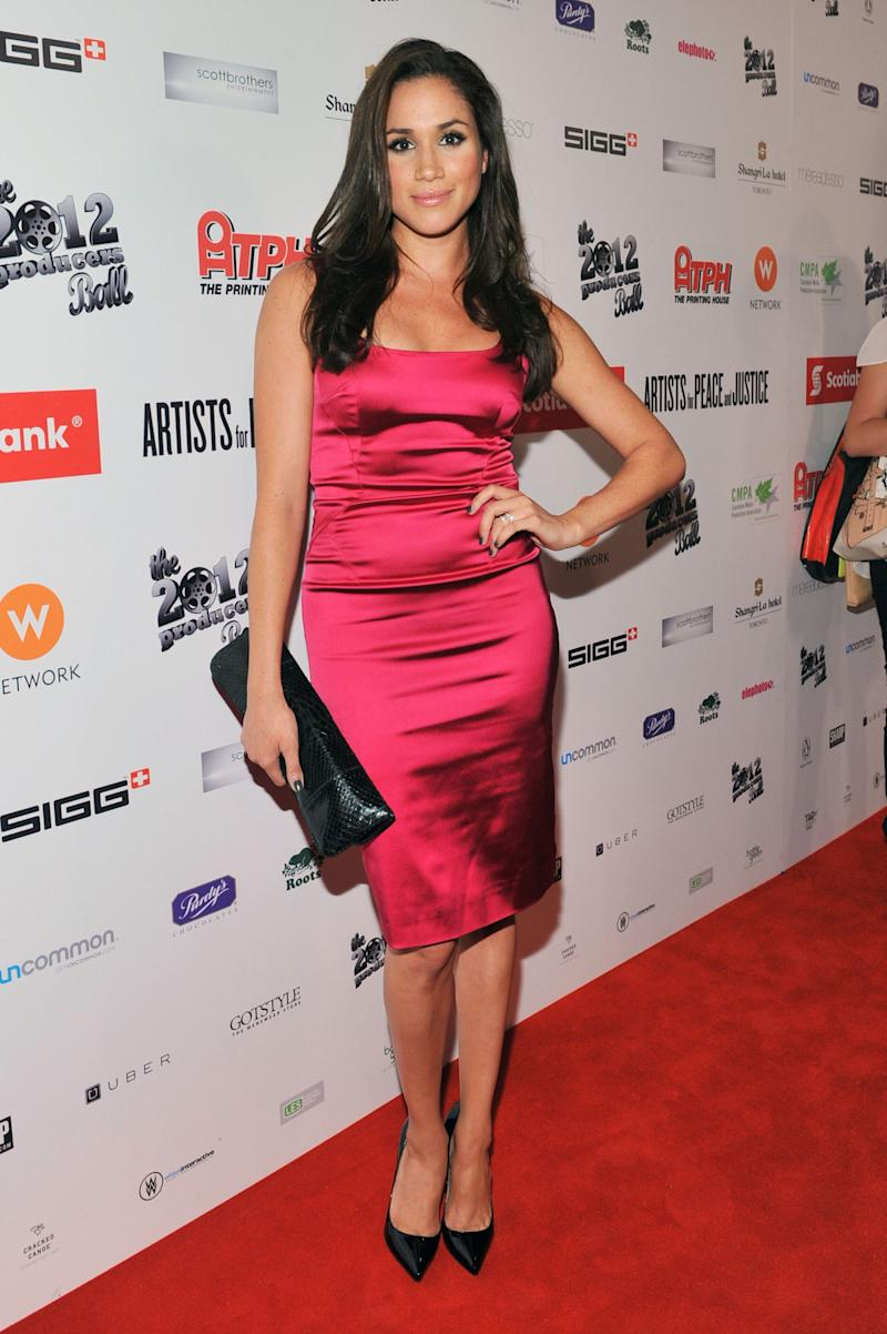 Markle attends the Rising Stars: 2012 Producers Ball during the Toronto International Film Festival on Sept. 5, 2012.